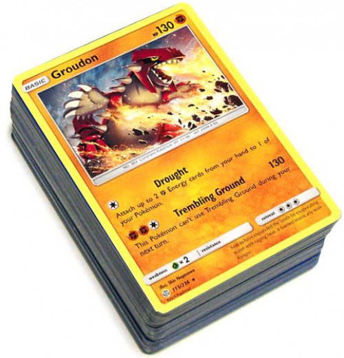 Pokemon Trading Card Game Cosmic Eclipse LOT of 50 Single Cards