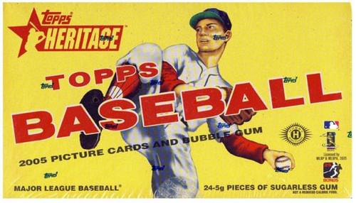 MLB Topps 2005 Heritage Baseball Trading Card Box