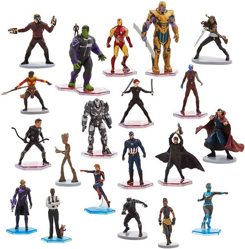 Disney Marvel Avengers Exclusive 20-Piece PVC Mega Figurine Playset