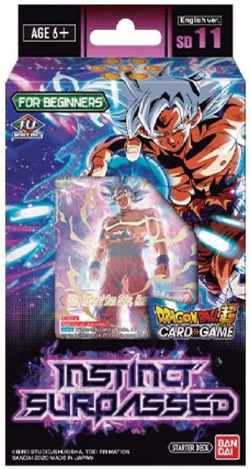Dragon Ball Super Collectible Card Game Series 9 Instinct Surpassed Starter Deck