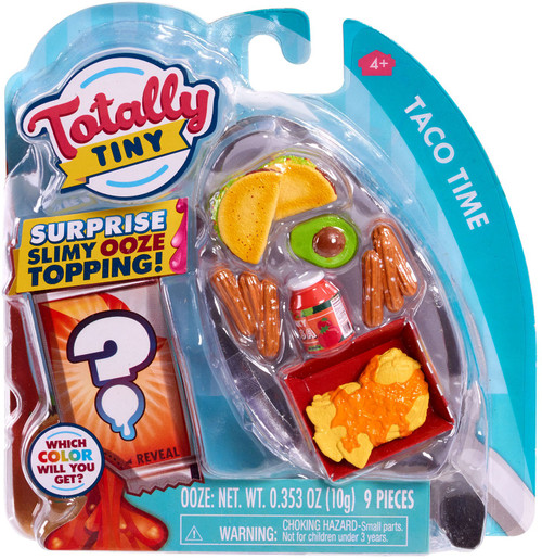 Totally Tiny Fun Taco Time Mini Food Play Set [Surprise Slimy Ooze Topping!]