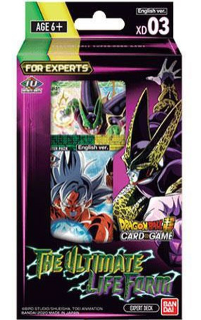 Dragon Ball Super Collectible Card Game Series 9 The Ultimate Life Form Expert Deck
