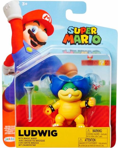 World of Nintendo Ludwig Von Koopa Action Figure [Magic Wand]