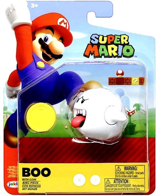 World of Nintendo Boo Action Figure [Coin]
