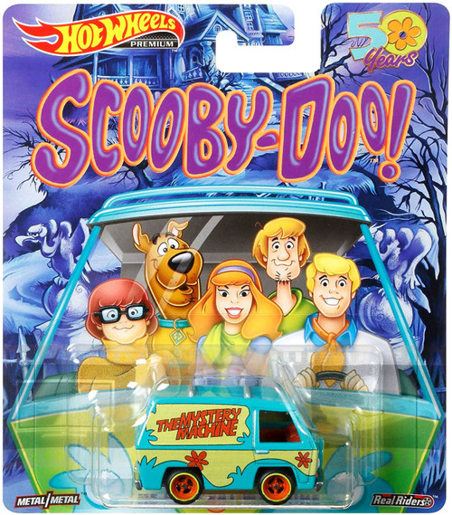 Hot Wheels Scooby Doo 50 Years The Mystery Machine Diecast Car