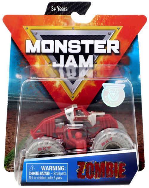 Monster Jam Zombie Diecast Car [Red & Gray]