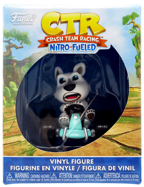 Funko Crash Bandicoot Crash Team Racing Nitro-Fueled Mystery Minis Polar Vinyl Figure