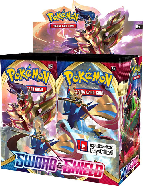 Pokemon Trading Card Game Sword & Shield Booster Box [36 Packs]