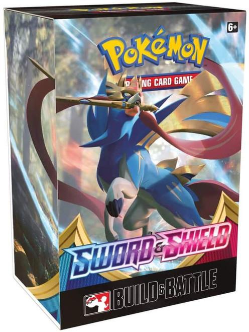 Pokemon Trading Card Game Sword & Shield Build & Battle Box [4 Booster Packs & 23-Card Evolution Pack!]