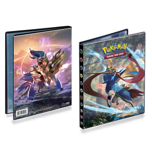 Ultra Pro Pokemon Trading Card Game Sword & Shield 4-Pocket Portfolio