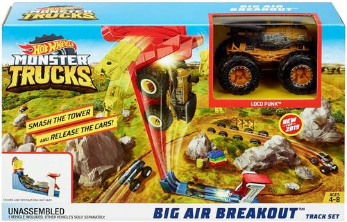 Hot Wheels Monster Trucks Big Air Breakout