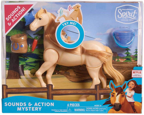 Spirit Riding Free Collector Series Sounds & Action Mystery 7-Inch Figure