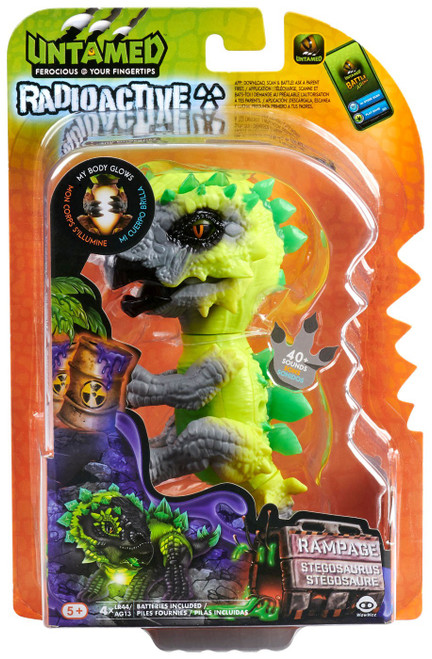 Fingerlings Untamed Dinosaur Radioactive Rampage Figure