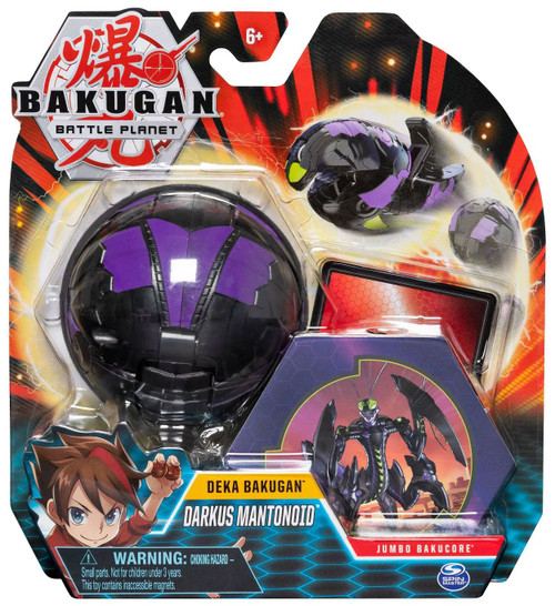 Bakugan Battle Planet Deka Darkus Mantonoid Figure [Jumbo Bakucore]