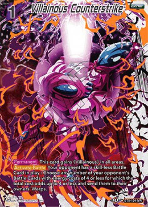 Dragon Ball Super Collectible Card Game Malicious Machinations Ignoble Villain Rare Villainous Counterstrike BT8-134