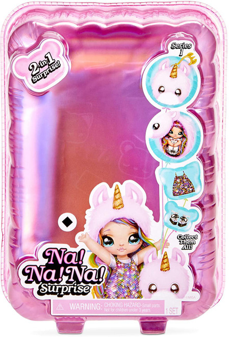Na! Na! Na! Surprise Series 1 Mystery Pack [1 RANDOM Fashion Doll & Plush Pom Purse]