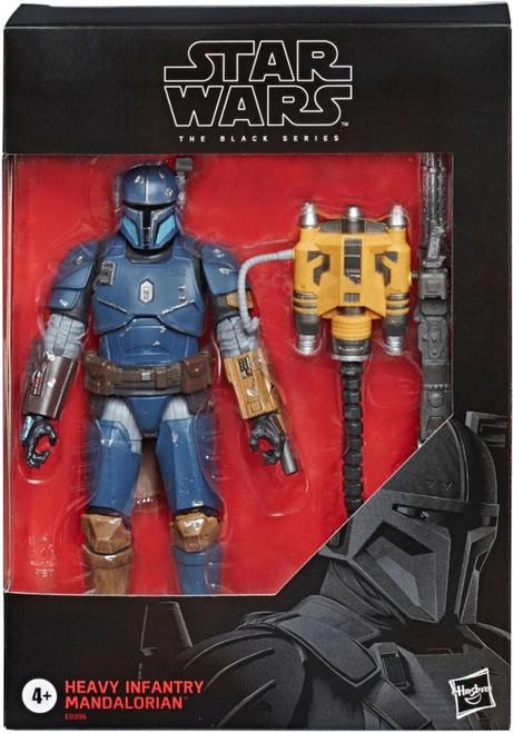 Star Wars The Mandalorian Black Series Heavy Infantry Mandalorian Exclusive Action Figure [Paz Vizla]