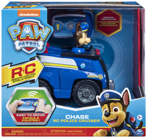 Paw Patrol Chase RC Police Cruiser