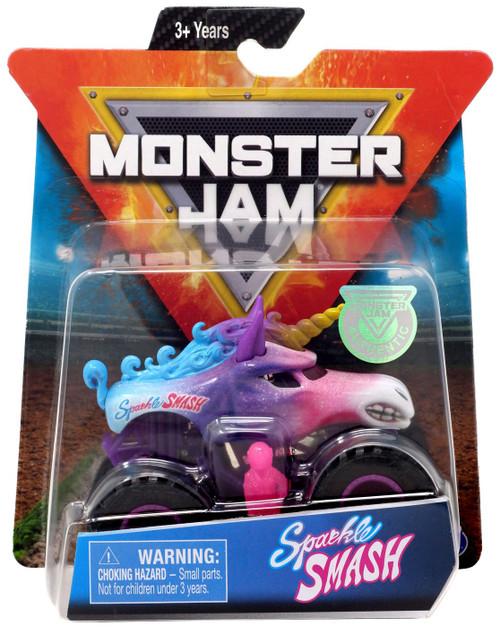 Monster Jam Sparkle Smash Diecast Car
