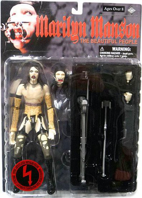 Marilyn Manson The Beautiful People Action Figure [Damaged Package]