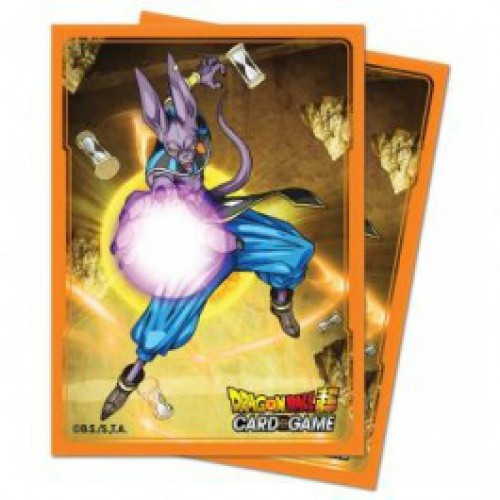 Ultra Pro Dragon Ball Super Beerus Standard Card Sleeves [65 Count]