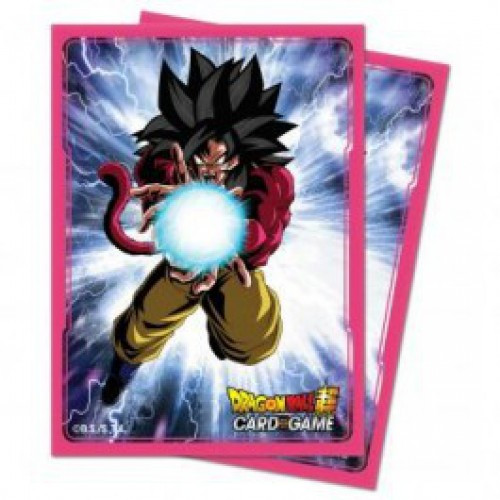 Ultra Pro Dragon Ball Super Saiyan 4 Goku Standard Card Sleeves [65 Count]