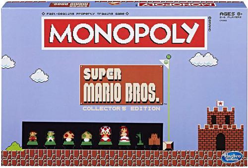 Monopoly Super Mario Bros Exclusive Board Game [Collector's Edition]