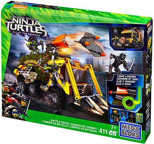 Mega Bloks Teenage Mutant Ninja Turtles Out of the Shadows Battle Truck Set #31601 [Damaged Package]