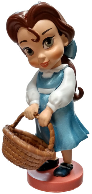 Disney Beauty and the Beast Animators' Collection Belle 3.5-Inch PVC Figure [Toddler Loose]