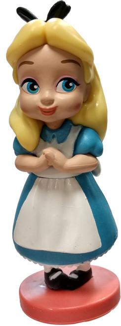Disney Alice In Wonderland Animators' Collection Alice 3-Inch PVC Figure [Toddler Loose]