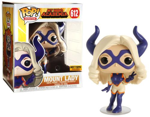 Funko My Hero Academia POP! Animation Mount Lady Exclusive 6-Inch Vinyl Figure #612 [Super-Sized]