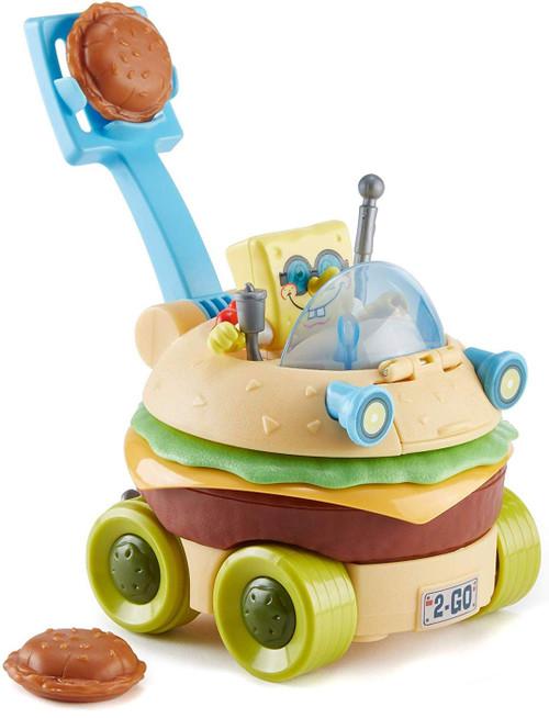 Fisher Price Spongebob Squarepants Imaginext Krabby Patty Wagon Exclusive Vehicle Set [Frustration Free Packaging]