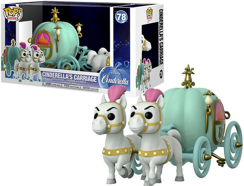 Funko Disney POP! Rides Cinderella's Carriage Vinyl Figure #78