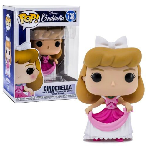 Funko POP! Disney Cinderella Vinyl Figure #738 [Pink Dress]