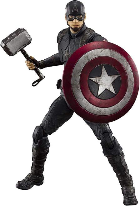 Marvel Avengers Endgame S.H. Figuarts Captain America Action Figure [Final Battle Edition]