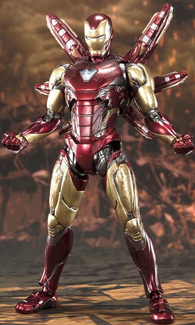 Marvel Avengers Endgame S.H. Figuarts Iron Man Action Figure [Final Battle Edition]