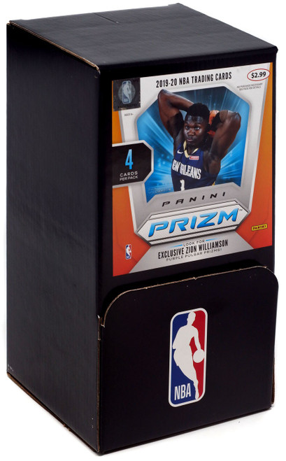 NBA Panini 2019-20 Prizm Basketball Trading Card GRAVITY FEED Box [36 Packs]