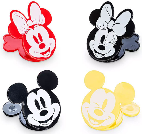Mickey Mouse Disney Eats Mickey & Minnie Bag Clips Exclusive Set