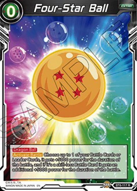 Dragon Ball Super Collectible Card Game Destroyer Kings Rare Four-Star Ball BT6-117
