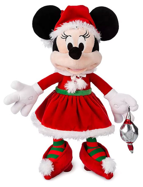 Disney 2019 Holiday Santa Minnie Mouse Exclusive 17-Inch Plush