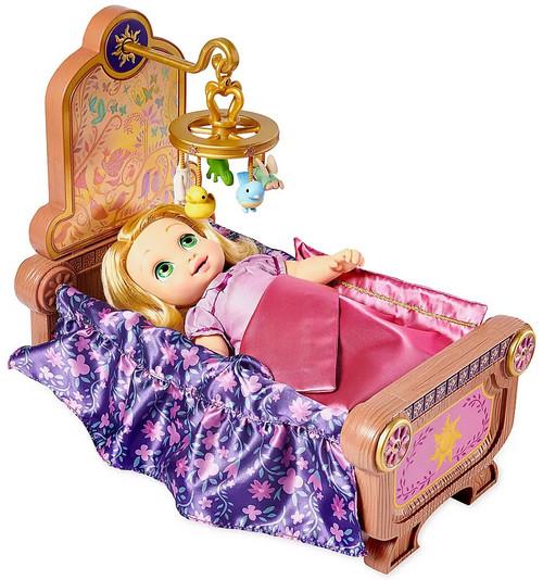 Disney Tangled Animators' Collection Origins Rapunzel Baby Doll & Crib Exclusive 16-Inch