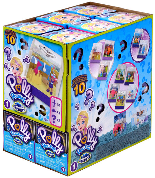 Polly Pocket Sand Secrets Series 1 Mystery Box [18 Packs]