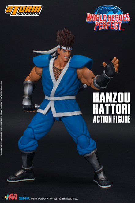 World Heroes Perfect Hanzou Hattori Action Figure