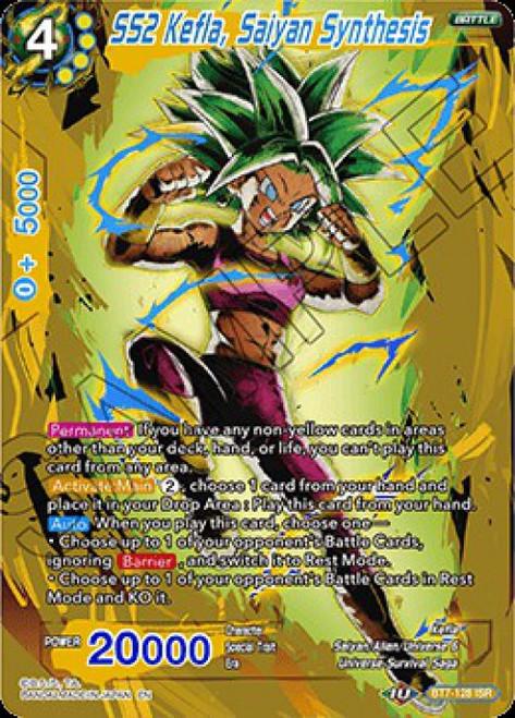 Dragon Ball Super Collectible Card Game Assault of the Saiyans Infinite Saiyan Rares SS2 Kefla, Saiyan Synthesis BT7-128