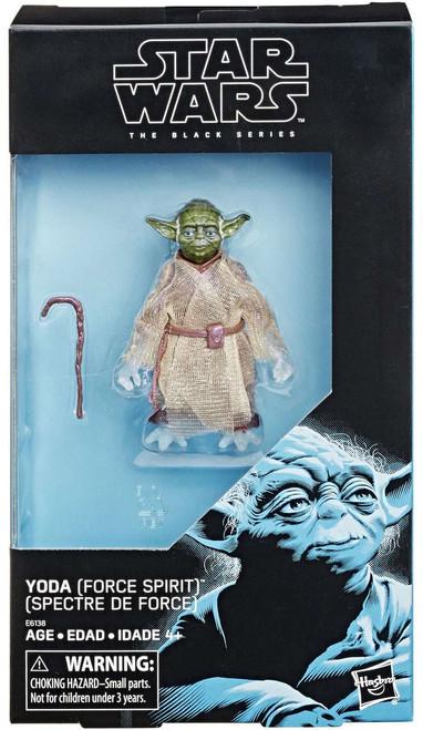 Star Wars Return of the Jedi Black Series Yoda Exclusive Action Figure [Force Spirit]