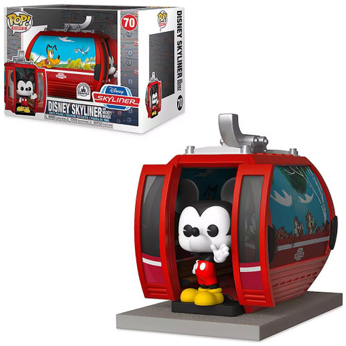 Funko POP! Rides Disney Skyliner with Mickey Mouse Exclusive Vinyl Figure #70