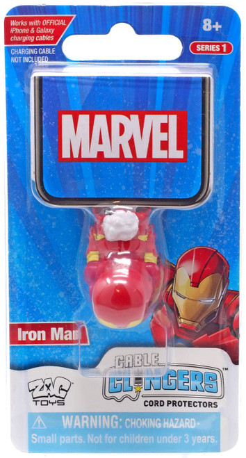 Marvel Cable Clingers Iron Man Cord Protector