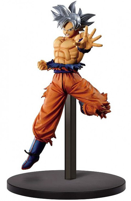 Z-Battle Dragon Ball Z: Buyu Retsuden II Ultra Instinct Goku 7.8-Inch Collectible PVC Figure Vol.1