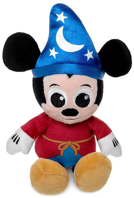 Disney Light-Up Sorcerer Mickey Mouse Exclusive 4-Inch Micro Plush