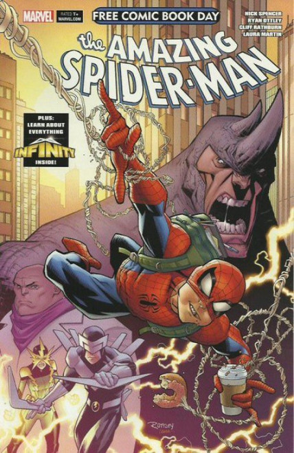 Marvel Amazing Spider-Man / Guardians of the Galaxy #1 Comic Book [Free Comic Book Day]